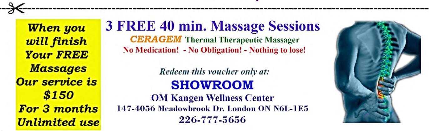 Ceragem-London – OM Kangen Wellness Center